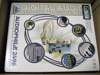 M-AUDIO Audiophile 2496 PCI